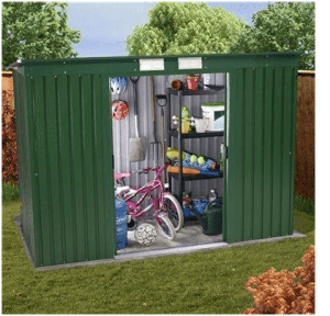 The BillyOh Sutton Pent Metal Shed