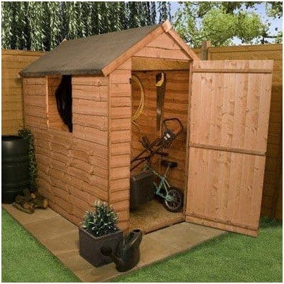 Billyoh Traditional Economy Wooden Garden Shed