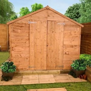 The Billyoh 4000 Tongue & Groove Apex Shed 16X10 front