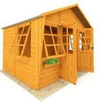 The Billyoh 5000 Dreamers Tongue & Groove Summerhouse 8 X 10 front