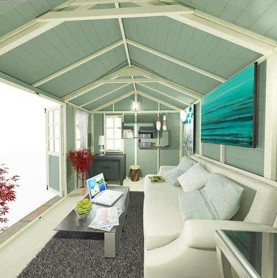 The billyoh 5000 eden premium workshop log cabin for Build a cabin for under 5000