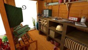 The Billyoh 5000 Gardener's Haven 10 X 6 internal view