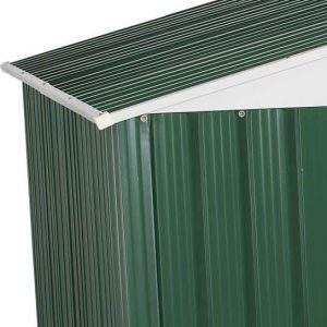 The Billyoh Carrington Metal Shed 10 X 8 wall