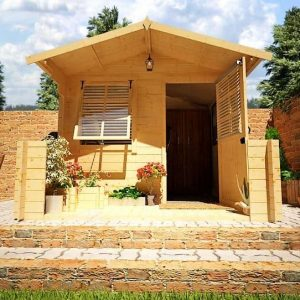 The Billyoh Pathfinder Nook Summerhouse front