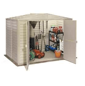 The Duramax Duramate Plastic Garden Shed