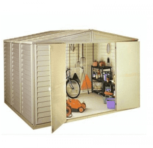The Duramax Woodbridge Plastic Shed