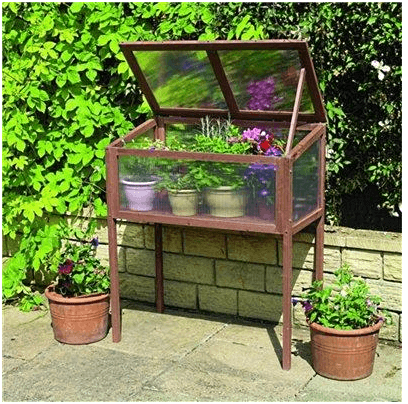 The Gardman Raised Wooden Cold Frame