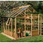 The Growhouse Classic Cedar Greenhouse