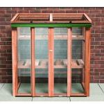 The Growhouse Upright Cedar Cold Frame