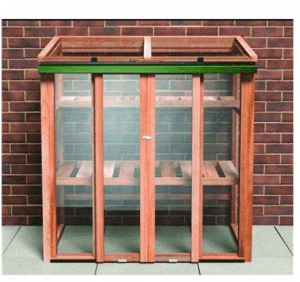 The Growhouse Upright Cedar Cold Frame