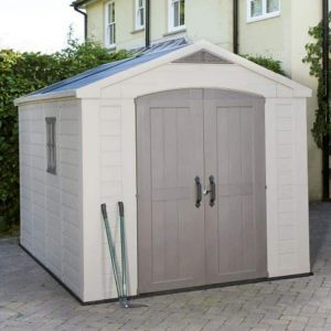 The Keter Garden Storage Fortis Plastic Garden Shed 8 X 11