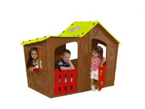 The Keter magic villa playhouse brown
