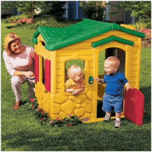 The Little Tikes Magic Doorbell Plastic Playhouse