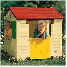 The Little Tikes Natural Playhouse