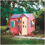 The Little Tikes Pink Plastic Country Cottage Playhouse