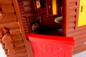 The Little Tikes Plastic Log Cabin Playhouse