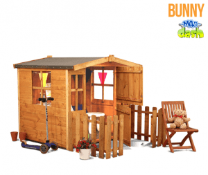The Mad Dash 300 Bunny Wooden Children's Playhouse