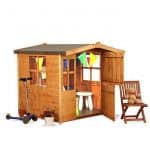 The Mad Dash 300 Bunny Wooden Children's Playhouse 4 X 4 without fence