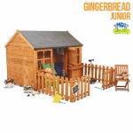 The Mad Dash 400 Gingerbread Playhouse