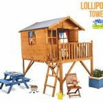 The Mad Dash 400 Lollipop Wooden Junior Tower Playhouse