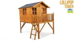 The Mad Dash 400 Lollipop Wooden Junior Tower Playhouse 7 X 6 -2