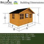 The Mad Dash 400 Lollipop Wooden Playhouse Overall Dimensions
