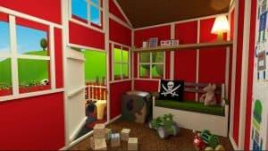 The Mad Dash 4000 Standard Dutch Barn 6 X 7 internal red color