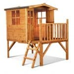 The Mad Dash Bunny Tower Wooden Playhouse 6 X 5