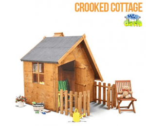 The Mad Dash Crooked Cottage Playhouse