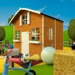 The Mad Dash Dutch Barn Wooden Playhouse 6 X 7