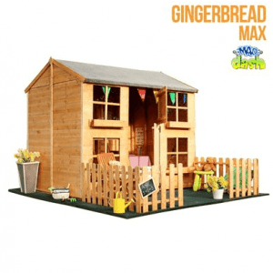 The Mad Dash Gingerbread Playhouse