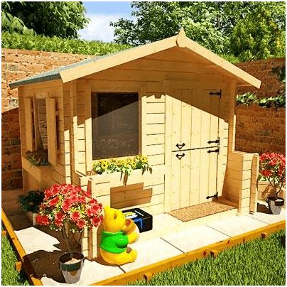 The Mad Dash Junior Log Cabin