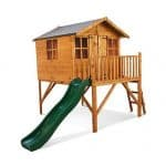 The Mad Dash Lollipop Junior Tower Extra Wooden Playhouse 7 X 12