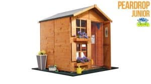 The Mad Dash Premium Peardrop Junior Playhouse with Picket Fence 6 X 5