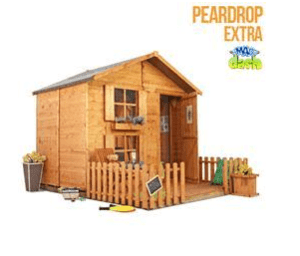 The Mad Dash Wendy house Peardrop Extra Children's Wooden Playhouse