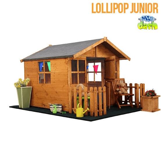 The Mad Dash Wooden Playhouse Lollipop Junior