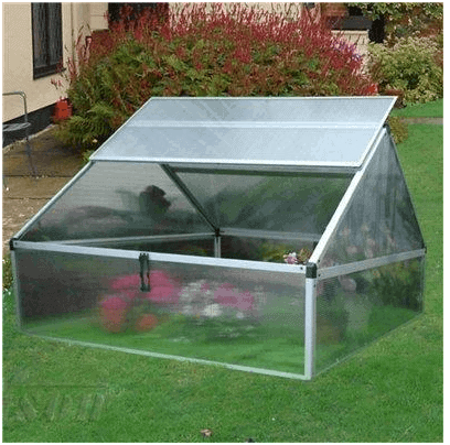 The Nison Large Aluminium Cold Frame
