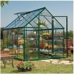 The Palram Green Harmony Metal Greenhouse