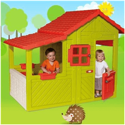 The Smoby Floralie Plastic Playhouse