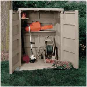 The Suncast Conniston Vertical Shed