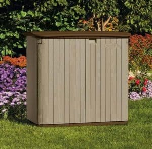 The Suncast Kensington 4 Horizontal Shed 5X3