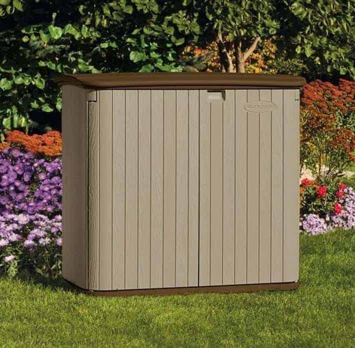 The billyoh suncast kensington 4 horizontal shed for Garden room 5x3