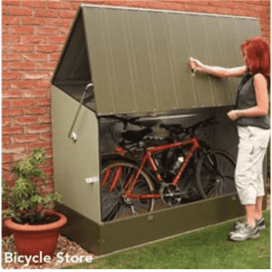 The Trimetals Metal Bike Shed
