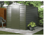 The Trimetals Titan 630 Premium Metal Shed