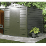 The Trimetals Titan 680 Metal Shed