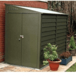 The Trimetals Titan 960 Metal Garden Shed