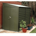 The Trimetals Titan 960 Metal Shed
