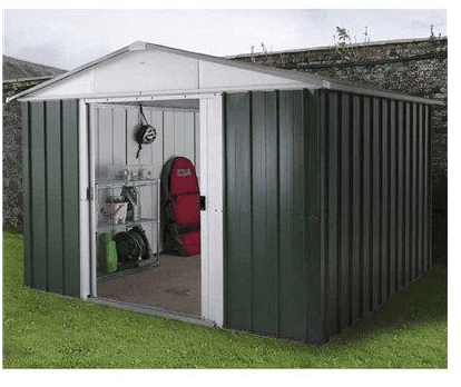 The Yardmaster 1010GEYZ Metal Shed