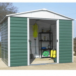 The Yardmaster 1012GEYZ Metal Shed