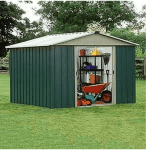 The Yardmaster 1013GEYZ Metal Shed